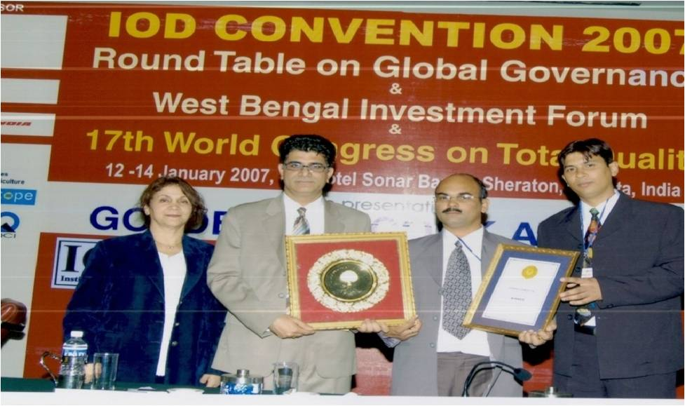 Receiving Award Picture 1