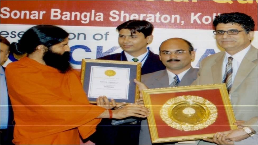 Receiving Award Picture 2